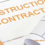 Các loại hợp đồng xây dựng kiến thức rất cần thiết cho Kỹ sư QS