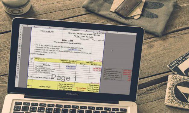 Mẫu báo cáo quyết toán dự toán hoàn thành file Excel