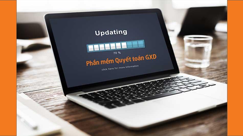 Cập nhật lệnh Chọn cơ sở dữ liệu cho phần mềm Quyết toán GXD
